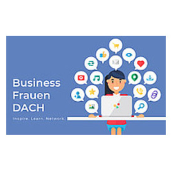 Business Frauen Dach